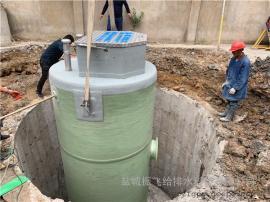 每天2500立方污水处理一体化提升泵站