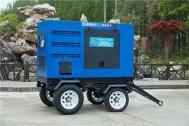 移动拖车型500A柴油发电电焊机