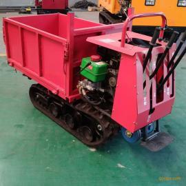 手扶履带搬运车 履带拖拉机 小推XT-650农田果园运输设备