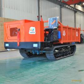 5吨履带运输车 小推XT-5T履带拖拉机 随车吊 工程履带运输车