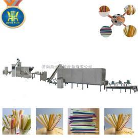 韩国大米吸管生产设备 环保大米吸管生产设备 大米吸管加工设备