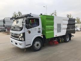 国六东风大多利卡5吨道路清扫车 洗扫车