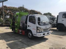 垃圾车 东风5方生活垃圾运输车