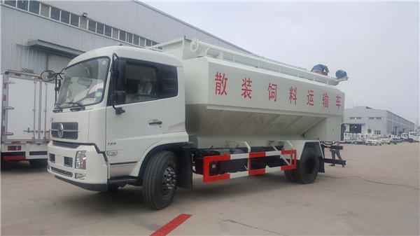 20吨散装饲料运输车图片