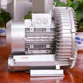 固定式粮食扦样机吸料高压风机 粮食扦样机用双叶轮高压风机