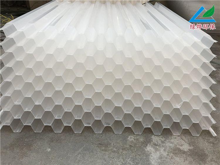 六角蜂�C斜管填料