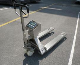 不锈钢3吨叉车电子秤,防油防爆防水叉车秤