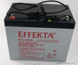 EFFEKTA蓄电池BTL12-80尺寸12V80AH详细参数