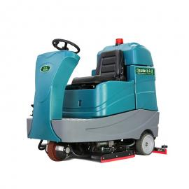 仓储物流车间座驾洗地车 地下车库停车场清洗机大型驾驶式洗地机