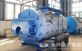 1吨燃气蒸汽锅炉低氮冷凝式