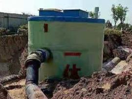 一体化泵站 预制一体化泵站的优点 兴澳环保 玻璃钢一体化泵站