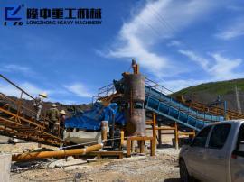 洗砂机械采购 洗砂机械生产原理 隆中*砂石厂生产线设备