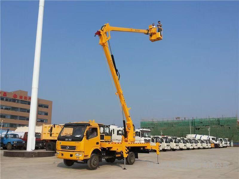 18米路灯安装检修车折臂式