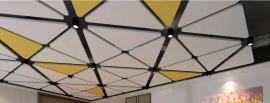 豪瑞岩棉玻纤板独立悬挂吸音体