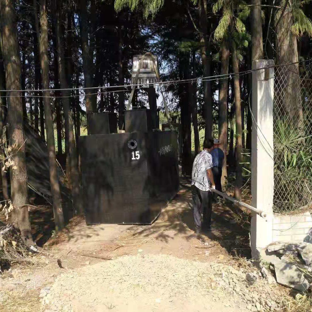 一体化生活污水处理设备MBBR工艺