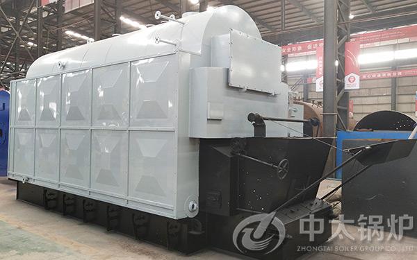 DZL型2吨生物质颗粒锅炉