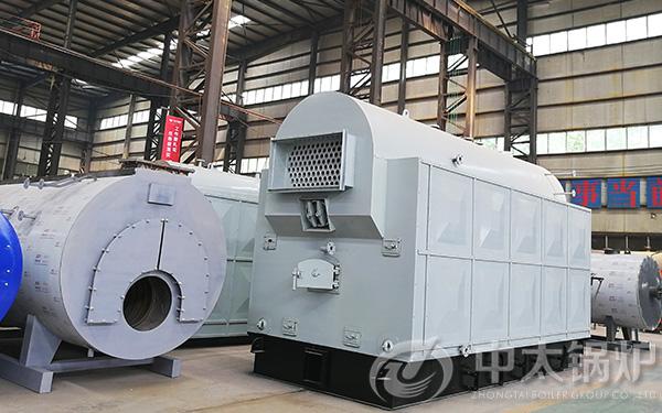 DZH型2吨生物质颗粒锅炉