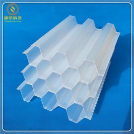ST 乙丙共聚六角蜂窝斜管填料生产商/欢迎咨询 φ35φ50φ80
