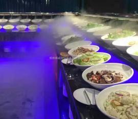 火锅店喷雾加湿设备作用价值
