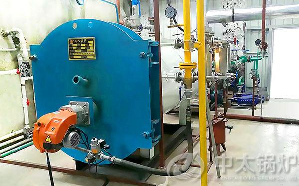 制药工业1吨天然气锅炉