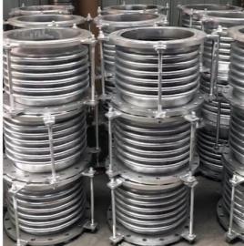不锈钢波纹软管安装热力管道