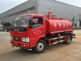 5吨森林消防洒水车 东风5方应急消防洒水车 喷水车