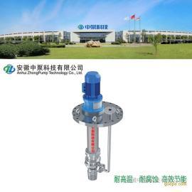 中泵科技 MYP不锈钢耐腐耐磨化工高效节能液下泵 MYP50-3-2000