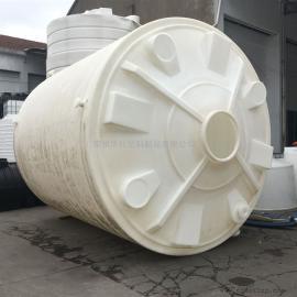 华社30吨抗紫外线塑料储罐室外废水水箱森林消防水箱30T