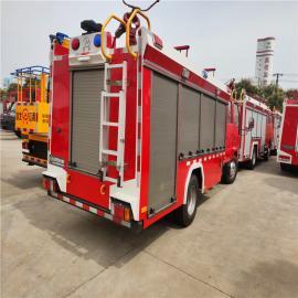 JDF5070GXFSG20/Q6型水罐消防车江特牌国六2.5方庆铃水罐消防车 小型消防车全新车出售 热销产品
