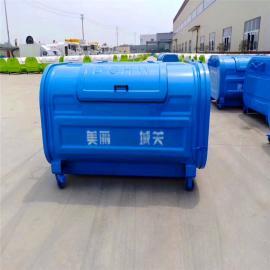 长安碳钢不锈钢3方小型垃圾箱订做SC
