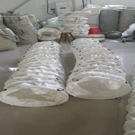 祥元水泥散装机布袋 下料口耐磨伸缩帆布袋定制