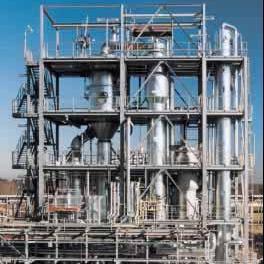 煤焦油提��含硫酸�c三效蒸�l�O��