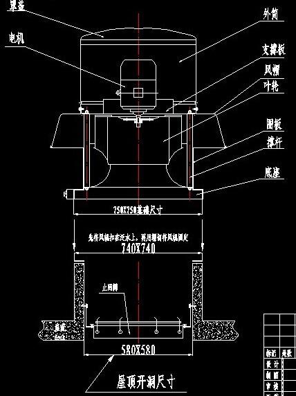 焊接车间主备风机自动转换电路图
