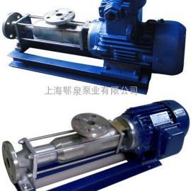FG型整体不锈钢单螺杆泵