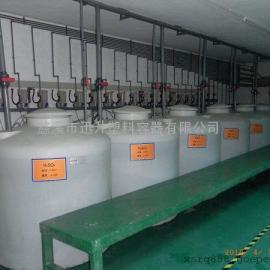 定制多规格塑料储罐30顿卧式运输罐直销