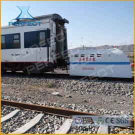 牵引火车公铁两用蓄电池电动动轨道车