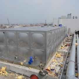 厂家直销不锈钢消防水箱 生活水箱 组合焊接不锈钢水箱