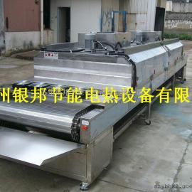 五金件除油清洗后烘干专用隧道式烤箱 电加热隧道炉