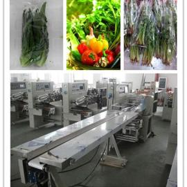 枕式多功能型蔬菜包装机,咨询蔬菜包装机工厂