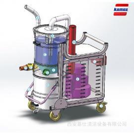陕西吸尘器维修_西安工厂车间用大功率强力工业吸尘器设备维修