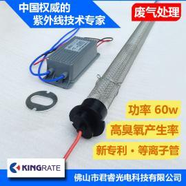 君睿专业生产60w高臭氧等离子管用于有机废气处理净化