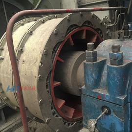 典型球磨机双列气动离合器结构