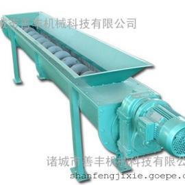 能耗低、排料口不易堵塞的无轴螺旋输送机/善丰输送机