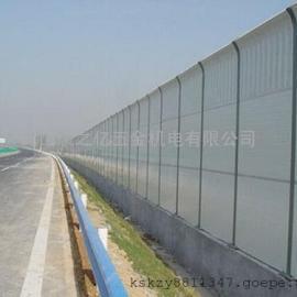 公路金属顶部弧形声屏障