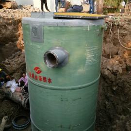 玻璃钢筒体地埋式一体化预制泵站苏州常熟