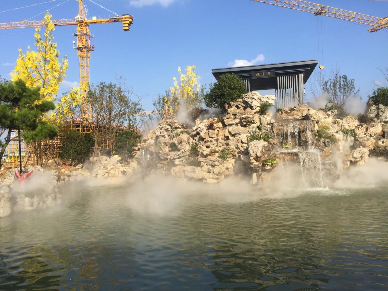 人造雾降温-景观人造雾-人造雾系统