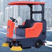 工厂车间地面粉尘灰尘扫地车 电瓶电动工业厂房路面清扫车