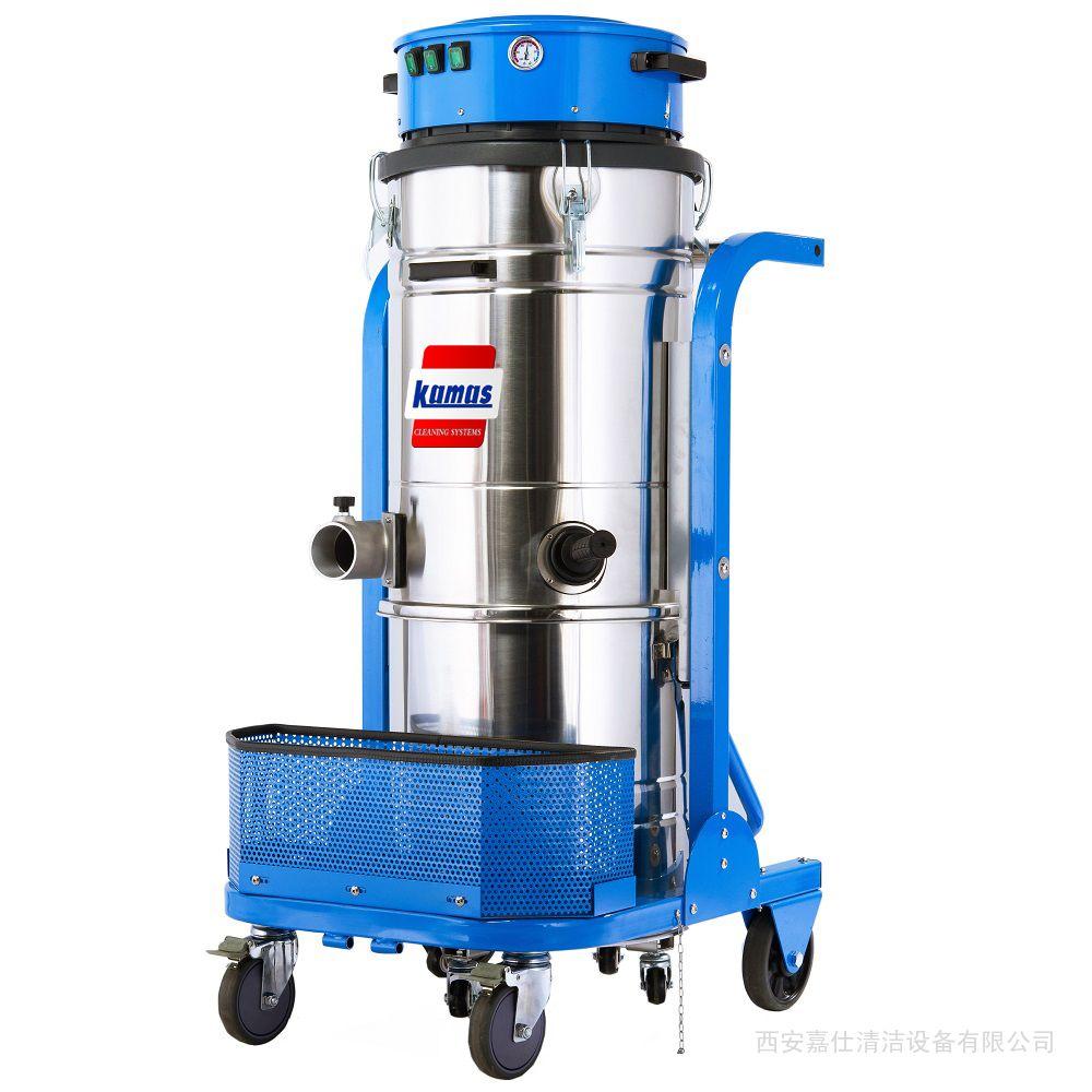 工厂车间吸金属屑用工业吸尘器