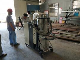 耐火材料车间粉尘粉末工业吸尘器 自主清灰大功率吸尘器C007AI