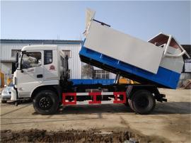 水厂脱水(12吨12立方污泥运输车)污泥密封自卸运输车匹配型号